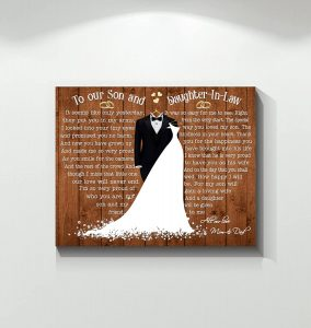 For My Son Will Gain A Loving Wife Canvas Wall Art