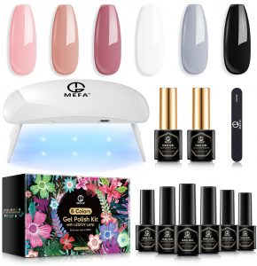 The Le Mini At-Home Gel Manicure Kit Gift Set