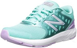 a pair of new balance sneakers
